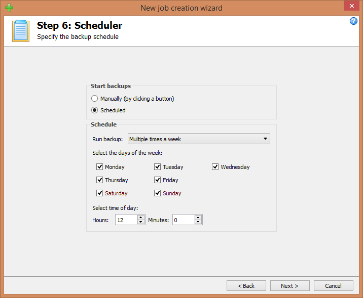 Step 6: Scheduler